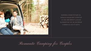 로맨틱 차박 캠핑  Car Camping PPT 템플릿(파워포인트>프리미엄 PPT>스포츠/레져) - 예스폼 쇼핑몰 #24