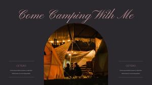 로맨틱 차박 캠핑  Car Camping PPT 템플릿(파워포인트>프리미엄 PPT>스포츠/레져) - 예스폼 쇼핑몰 #26