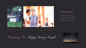 로맨틱 차박 캠핑  Car Camping PPT 템플릿(파워포인트>프리미엄 PPT>스포츠/레져) - 예스폼 쇼핑몰 #28