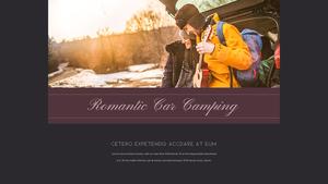로맨틱 차박 캠핑  Car Camping PPT 템플릿(파워포인트>프리미엄 PPT>스포츠/레져) - 예스폼 쇼핑몰 #29