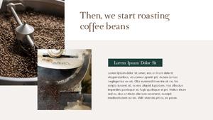 커피 농장  Coffee Plantation 템플릿(파워포인트>프리미엄 PPT>자연/환경) - 예스폼 쇼핑몰 #9