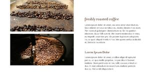 커피 농장  Coffee Plantation 템플릿(파워포인트>프리미엄 PPT>자연/환경) - 예스폼 쇼핑몰 #12