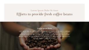 커피 농장  Coffee Plantation 템플릿(파워포인트>프리미엄 PPT>자연/환경) - 예스폼 쇼핑몰 #13
