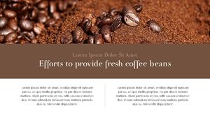 커피 농장  Coffee Plantation 템플릿(파워포인트>프리미엄 PPT>자연/환경) - 예스폼 쇼핑몰 #14