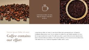 커피 농장  Coffee Plantation 템플릿(파워포인트>프리미엄 PPT>자연/환경) - 예스폼 쇼핑몰 #15