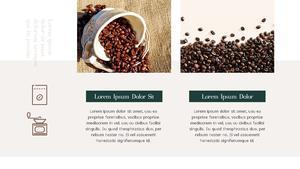 커피 농장  Coffee Plantation 템플릿(파워포인트>프리미엄 PPT>자연/환경) - 예스폼 쇼핑몰 #17