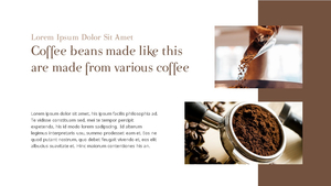 커피 농장  Coffee Plantation 템플릿(파워포인트>프리미엄 PPT>자연/환경) - 예스폼 쇼핑몰 #18