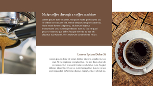 커피 농장  Coffee Plantation 템플릿(파워포인트>프리미엄 PPT>자연/환경) - 예스폼 쇼핑몰 #19