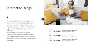 스마트 홈 Iot Service ppt 템플릿 #12