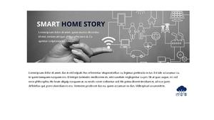 스마트 홈 Iot Service ppt 템플릿 #15