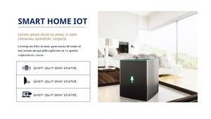 스마트 홈 Iot Service ppt 템플릿 #22