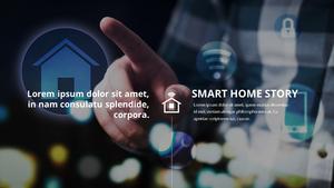 스마트 홈 Iot Service ppt 템플릿 #27