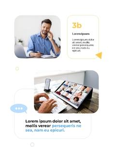 커뮤니케이션 컨셉 세로형 파워포인트 #7