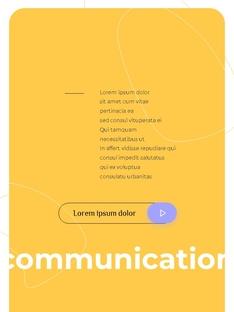 커뮤니케이션 컨셉 세로형 파워포인트 #23