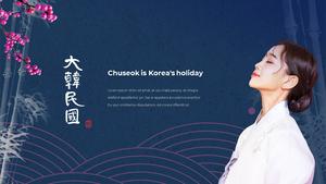 한국의 명절, 추석 파워포인트 템플릿 #21