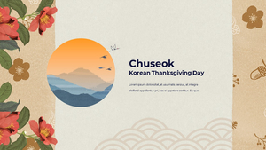한국의 명절, 추석 파워포인트 템플릿 #24