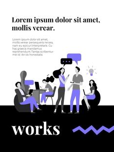 팀워크  Business Teamwork 세로형 PPT(파워포인트>프리미엄 PPT>비즈니스/산업) - 예스폼 쇼핑몰 #15