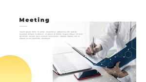 Video Conference  화상 회의 PPT 템플릿(파워포인트>프리미엄 PPT>비즈니스/산업) - 예스폼 쇼핑몰 #6