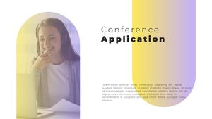 Video Conference  화상 회의 PPT 템플릿(파워포인트>프리미엄 PPT>비즈니스/산업) - 예스폼 쇼핑몰 #18