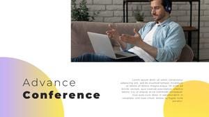 Video Conference  화상 회의 PPT 템플릿(파워포인트>프리미엄 PPT>비즈니스/산업) - 예스폼 쇼핑몰 #21