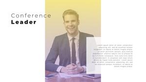 Video Conference  화상 회의 PPT 템플릿(파워포인트>프리미엄 PPT>비즈니스/산업) - 예스폼 쇼핑몰 #23