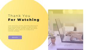 Video Conference  화상 회의 PPT 템플릿(파워포인트>프리미엄 PPT>비즈니스/산업) - 예스폼 쇼핑몰 #40