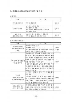 재가 장기 요양기관 사업계획서(방문요양/방문목욕) #12