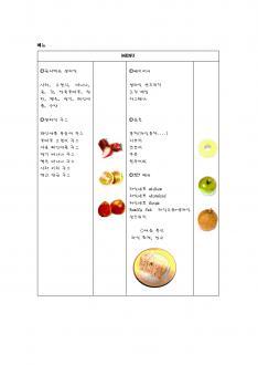 생과일 전문점 창업 사업계획서 page 9
