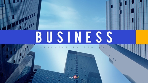 비즈니스 (Business) 파워포인트 배경 - 섬네일 1page