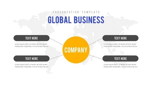 비즈니스 (Business) 파워포인트 배경 - 섬네일 3page