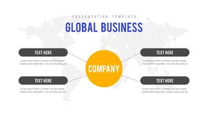 비즈니스 (Business) 파워포인트 배경 #3