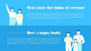 부동산 (Real Estate) 배경 템플릿