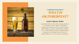 Oktoberfest (옥토버페스트) PPT 템플릿