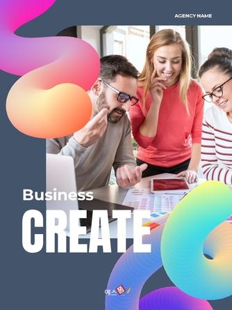 Business Creative 세로형 템플릿 - 섬네일 1page