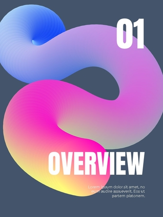 Business Creative 세로형 템플릿 - 섬네일 2page