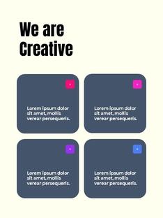 Business Creative 세로형 템플릿 #10