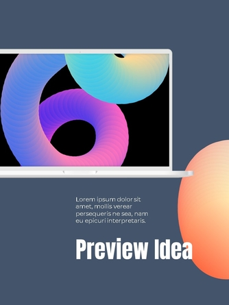 Business Creative 세로형 템플릿 - 섬네일 12page