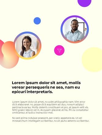Business Creative 세로형 템플릿 - 섬네일 19page