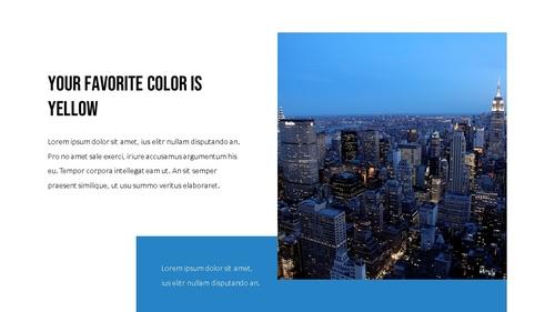 블루 스펙트럼 (Blue Spectrum) PPT 16:9 - 섬네일 3page