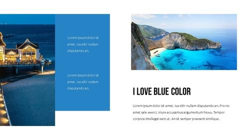 블루 스펙트럼 (Blue Spectrum) PPT 16:9 - 섬네일 4page