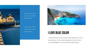 블루 스펙트럼 (Blue Spectrum) PPT 16:9 #4