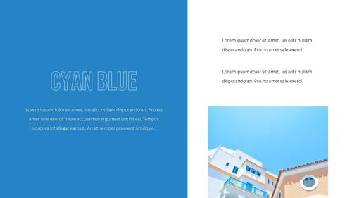 블루 스펙트럼 (Blue Spectrum) PPT 16:9 - 섬네일 6page