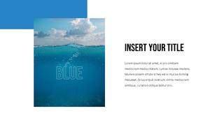 블루 스펙트럼 (Blue Spectrum) PPT 16:9 #8