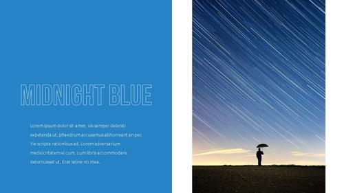 블루 스펙트럼 (Blue Spectrum) PPT 16:9 - 섬네일 9page