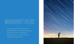 블루 스펙트럼 (Blue Spectrum) PPT 16:9 #9