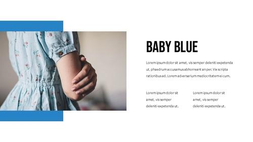 블루 스펙트럼 (Blue Spectrum) PPT 16:9 - 섬네일 17page