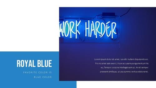 블루 스펙트럼 (Blue Spectrum) PPT 16:9 - 섬네일 19page