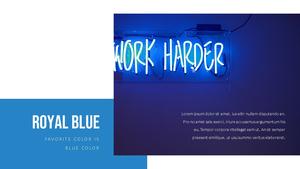 블루 스펙트럼 (Blue Spectrum) PPT 16:9 #19