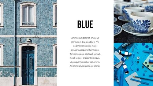 블루 스펙트럼 (Blue Spectrum) PPT 16:9 - 섬네일 21page