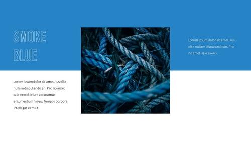 블루 스펙트럼 (Blue Spectrum) PPT 16:9 - 섬네일 22page